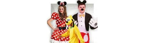 Disfraces de Películas y Personajes de Televisión para Comparsas
