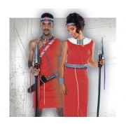 Disfraces de Africanos Zulus y Masaís
