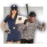 Disfraces de Policias y Presos