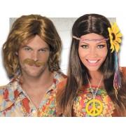 Pelucas Hippies, Afro, Años 60, Años 70