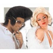 Pelucas Elvis Y Marilyn