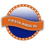 Decoración Fiesta Grease Años 50