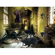 Decoracion Arañas,Telarañas Y Ratas